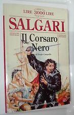 56145 Salgari - Il Corsaro Nero - Bibl. Economica n° 37 Newton 1996