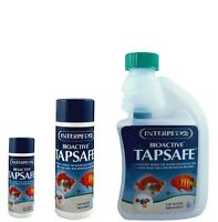 INTERPET BIOACTIVE TAP SAFE 30/125/250 ML WATER CONDITIONER  FOR ALL FISH TANK