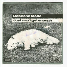 DEPECHE MODE Vinyle 45T JUST CAN'T GET ENOUGH - ANY SECOND NOW Chat MUTE 101558
