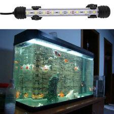 Waterproof Underwater Aquarium Fish Tank LED Light Bulb Lamp Tube 18CM FE