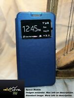 Hülle Deckel Buch (TPU case) Huawei ENJOY 7 - Blau / Blue