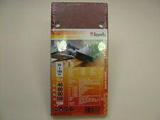Orbital sander hook &loop sanding sheets 15 assorted 93x185mm Bosch,DeWalt,Festo