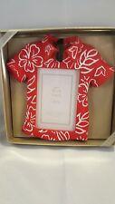 Sonoma Hawaiian shirt shaped frame new in box
