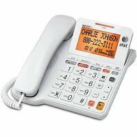 AT&T Corded Answering System with Backlit Display (CL4940) - LN™