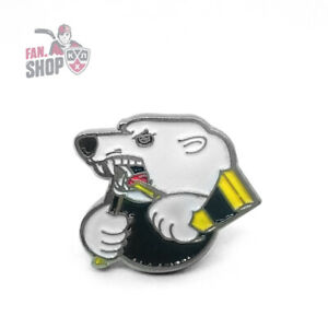 Traktor Chelyabinsk pin badge KHL team Russian Ice Hockey club HC White Bear