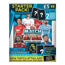 Match Attax EPL 2018/19 ~ Starter Pack ~ Inc 12 Cards Inc 2 Limited Edition