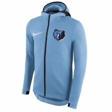 NWT Memphis Grizzlies Nike Therma Flex Showtime Men's NBA Hoodie Blue 899850 422