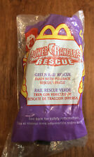 2000 McDonald's Power Rangers Rescue -Green #4 Happy Meal Toy -NIP