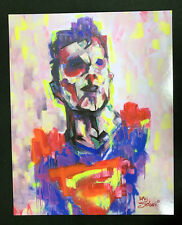 Comic Con Box Exclusive Superman Long Survivor Art Print 8 x 10 by Han Soloski