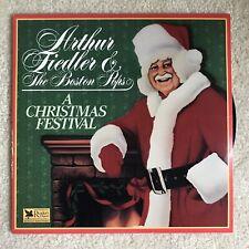 Arthur Fiedler, A Christmas Festival, Record