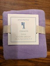 Pottery Barn Kids Lavender Chamois Standard Pillow Sham