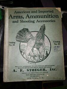 1933 Stoeger Gun Catalog American & Import Arms Ammunition Luger Mauser Ithaca++