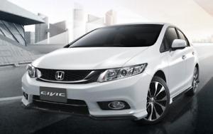 13-15 JDM Honda Civic FB Fog Lights Modulo Auto New 33900/50-TR0 Genuine Parts
