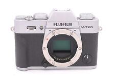 Fujifilm X-T20 24.3MP Mirrorless Camera Silver with EBC XC 6-50mm OIS II Lens