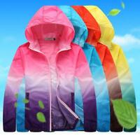 Couple Anti-UV Activewear Quick-dry Windproof Camping Jacket Running Skin Coat