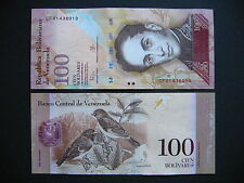 Venezuela 100 bolívares 5.11.2015 (PNEW) UNC