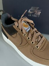 Nike X Carhartt, Air Force One 1 WIP, AV3524-200, Sz UK 5, EU 38US 5.5 Y, Ale
