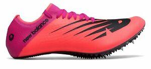 Balance New  Unisex Sigma Aria Track Spike Shoes Pink/Black