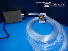 Kit Fibra Ottica RGB/WHITE LED 16W Cielo Stellato 200 punti luce da 1MM X 2M