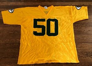 A. J. Hawk Green Bay Packers NFL Football Jersey Men's Size 2XL