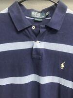 🏇🧔👔Men's Ralph Lauren Polo Short Sleeve Polo Shirt Size XL Striped🏇🧔👔