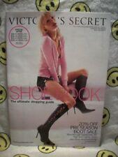 Victoria's Secret Catalog Fall Shoe & Accessory Book Vol 1, 2004 Gisele Bundchen