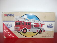 AEC turntable ladder new zealand fire brigade camion truck CORGI CLASSICS