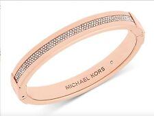Michael Kors Rose Gold Pave Set Crystal Bracelet MKJ6229791 New 796483298798