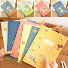 Cute Animal Diary Notebook Paper Writing Memo Planner Travel Journal Note Book