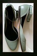 Derek Lam Ankle Strap Sorella Ballet Flat Shoes Minty Blue Sz 40 10 9.5 $590