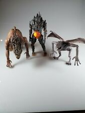 Doctor who Figure Lot 10th Dr Enemies WEREWOLF PYROVILE & KRILLITANE