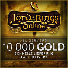 ★ LOTRO/HDRO ★ 10 000 GOLD ★ All Servers ★ Herr der Ringe Online ★
