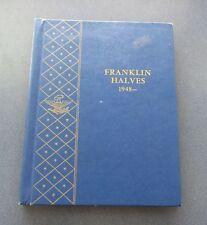 Complete Set Of 1948 to 1963 Franklin Half Dollar Set In Whitman Album- Nice Set