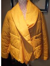 Nice Ladies Patrizia Pepe Firenze Yellow Nylon Jacket Sz. 42 (US Sz. 10) Italy