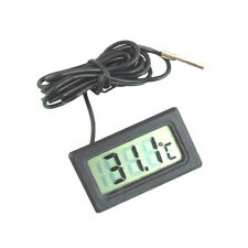 Aquarium Thermometer Lcd Fish Tank Water Temperature Detector Test Tool Ea7X