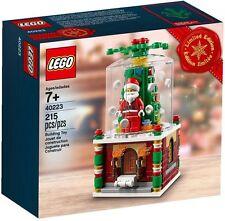 40223 SNOWGLOBE lego NEW legos set CHRISTMAS santa exclusive SNOW GLOBE