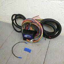 12v 18 Circuit 12 Fuse Universal Wiring Harness Kit 1950 oldsmobile rat rod