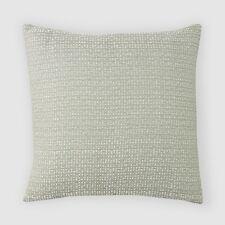 "Oake Woven Texture Decorative Pillow JADE GREEN 22"" x 22"" h688"