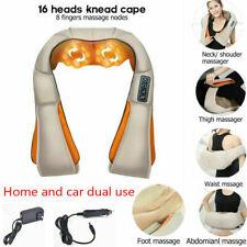 1 Set U Type Electrical Car/Home Massage Shiatsu Back Shoulder Neck Massager