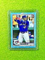 VLADIMIR GUERRERO JR CARD JERSEY #27 TORONTO BLUE JAYS /499 SP 2020 Topps Bowman