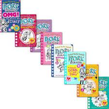 Rachel Russell Dork Diaries (Skating sensation,Dear Dork) 8 Books Collection Set