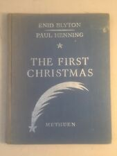 The First Christmas 1945, Methuen, Enid Blyton, Paul Henning, Collectible Book