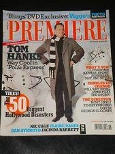 PREMIERE magazine 2004, Tom Hanks, Nicolas Cage, Jacinda Barrett, Ceorge Clooney