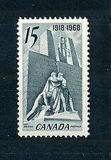 CANADA 1968 50th ANNIVERSARY OF 1918 ARMISTICE SG629 BLOCK OF 4 MNH