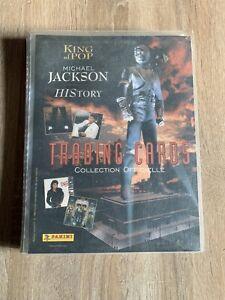 Michael jackson Panini Trading Cards France 1996 History