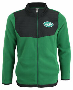 Outerstuff NFL Youth (8-20) New York Jets Long Sleeve Full Zip Jacket