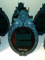 Disney Parks The Haunted Mansion Plaque Sign Photo Frame New Sealed original box