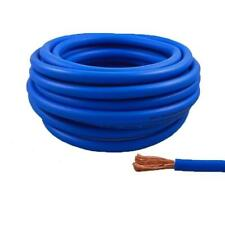 4 Gauge 25 Feet High Performance Flexible Amp Power/Ground Cable 4 AWG Wire Blue