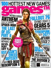 Games Magazine #202 (2018) 100 Hottest New Games Fallout 76 Halo Infinite...
