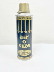 VINTAGE DEJAY AIR O SIZE SPRAY PAINT CAN - EMPTY - COLLECTORS ITEM